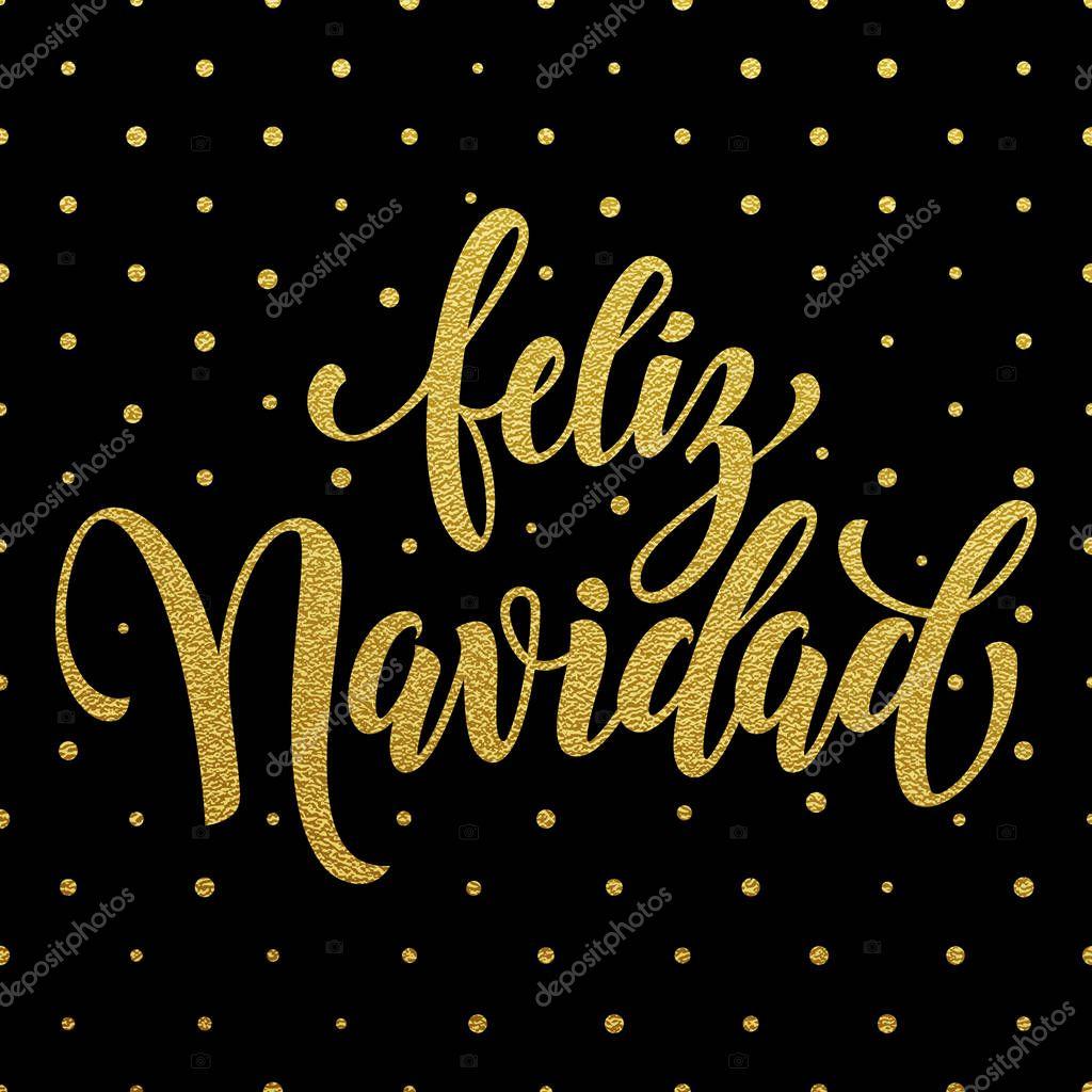 Letras de texto feliz Navidad Español feliz Navidad ...