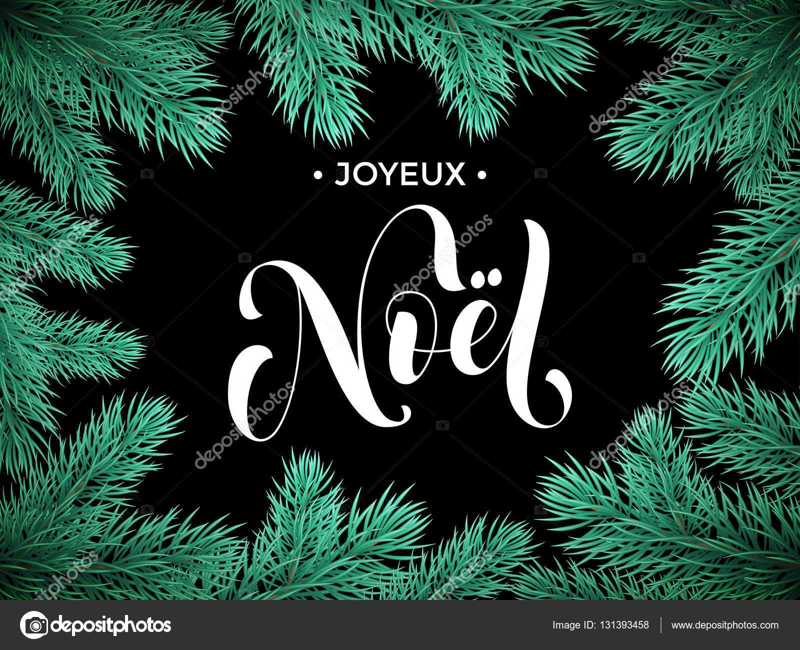 Auguri Di Buon Natale Francese.Cartolina D Auguri Di Buon Natale Di Joyeux Noel Francese