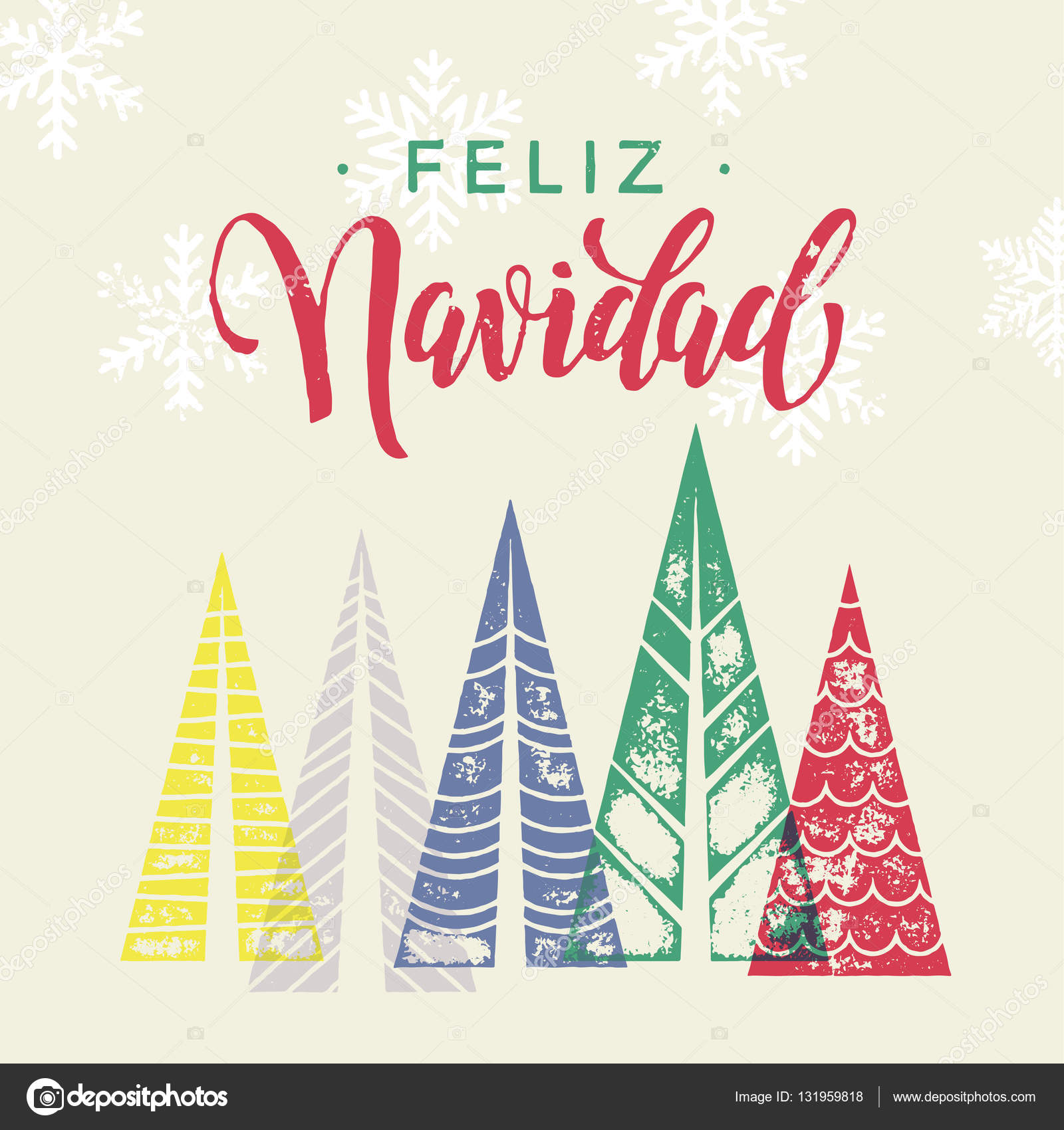 Winter forest background for spain christmas greeting card stock winter forest background for spain christmas greeting card stock vector m4hsunfo
