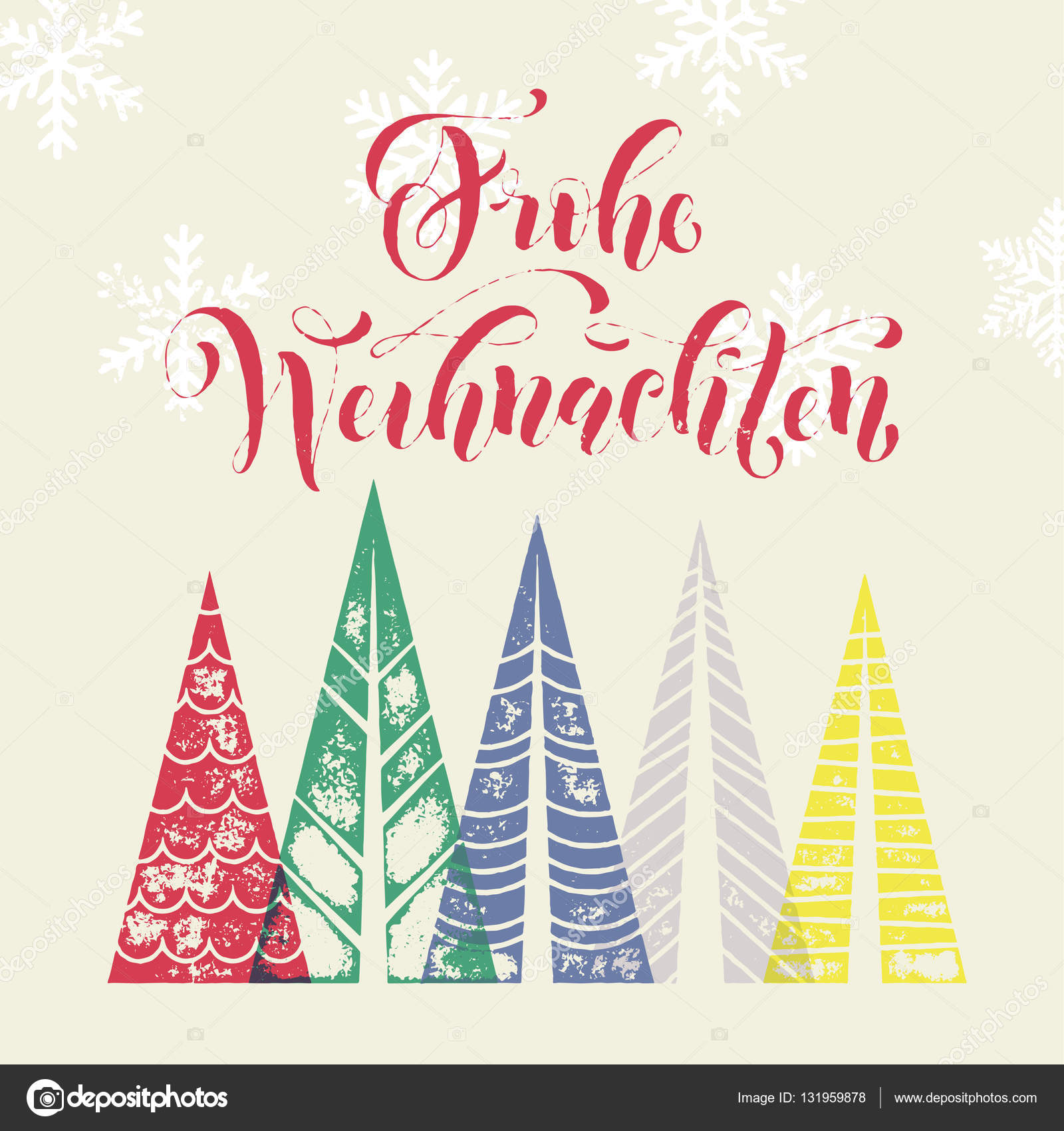 German christmas holiday frohe weihnachten greeting card stock german christmas holiday frohe weihnachten greeting card colorful winter holiday in germany greeting card merry christmas weihnachten text christmas tree m4hsunfo