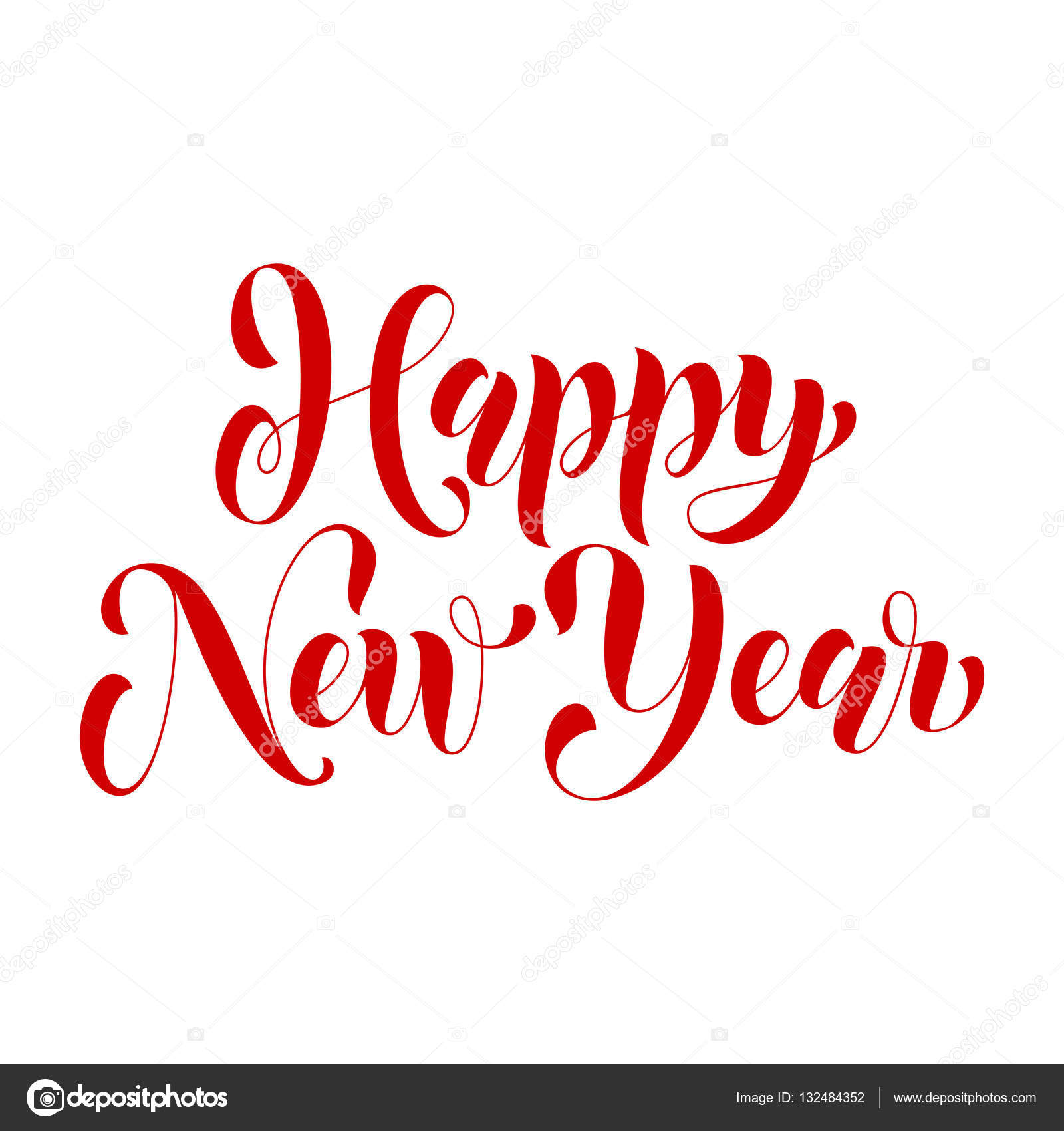 Happy New Year Lettering Design 11