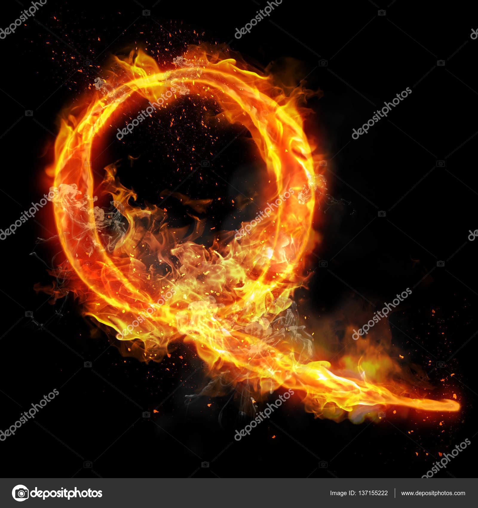 lettre q de la combustion de flamme lumi re de feu photographie ronedale 137155222. Black Bedroom Furniture Sets. Home Design Ideas