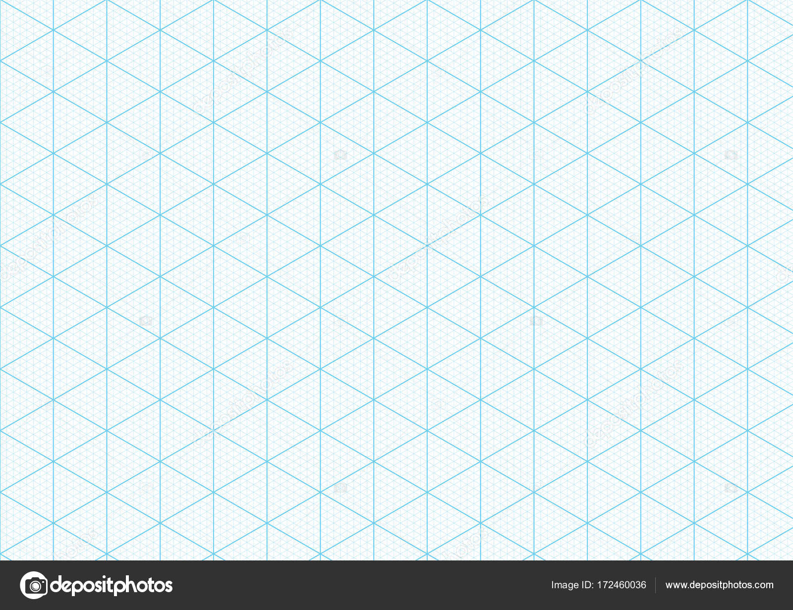 isometric graph paper background plotting triangular