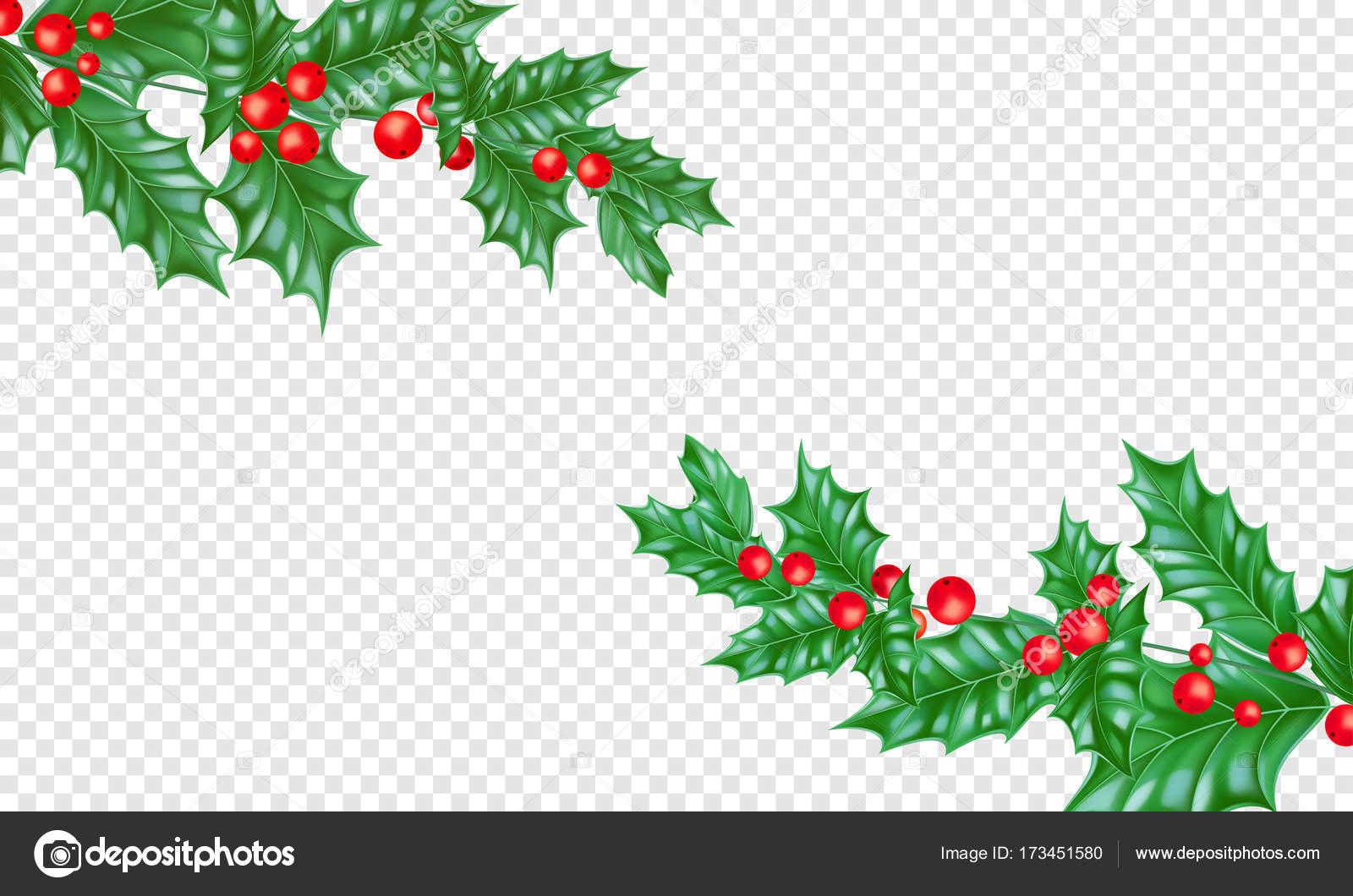 Weihnachten-Neujahr Grußkarte Hintergrund Vorlage Baum Zweig Holly ...