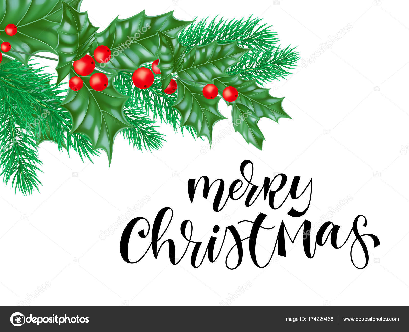 Christmas Greetings Background.Merry Christmas Greeting Card Background Design Template Of