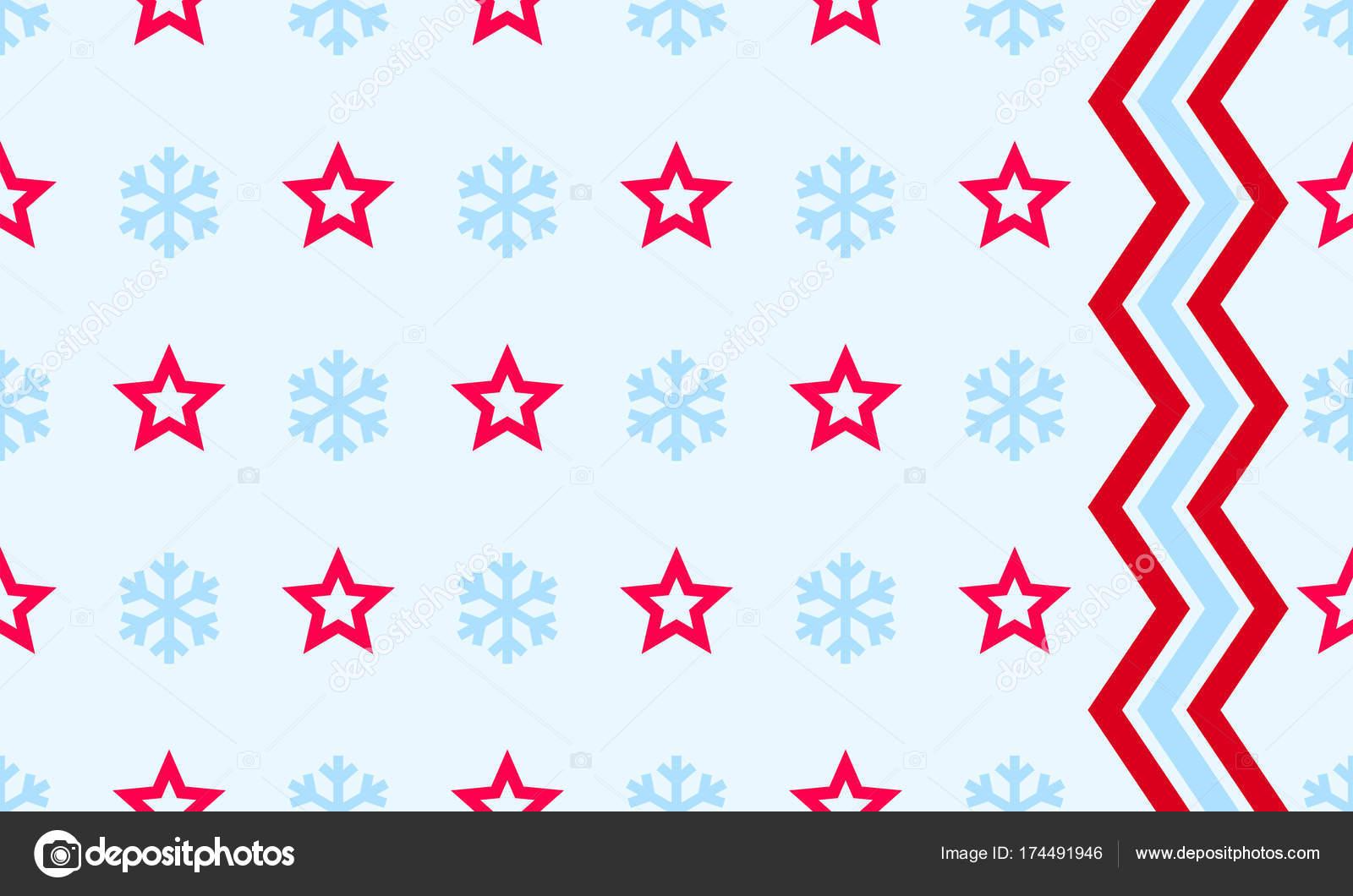 Copo de nieve de Navidad y estrella de vectores de fondo ...