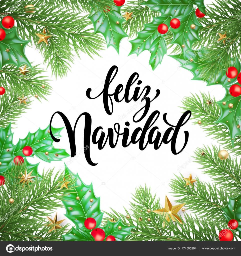 Feliz Navidad En Portugues Brasil.Imagenes Para Postales De Navidad Texto De Caligrafia