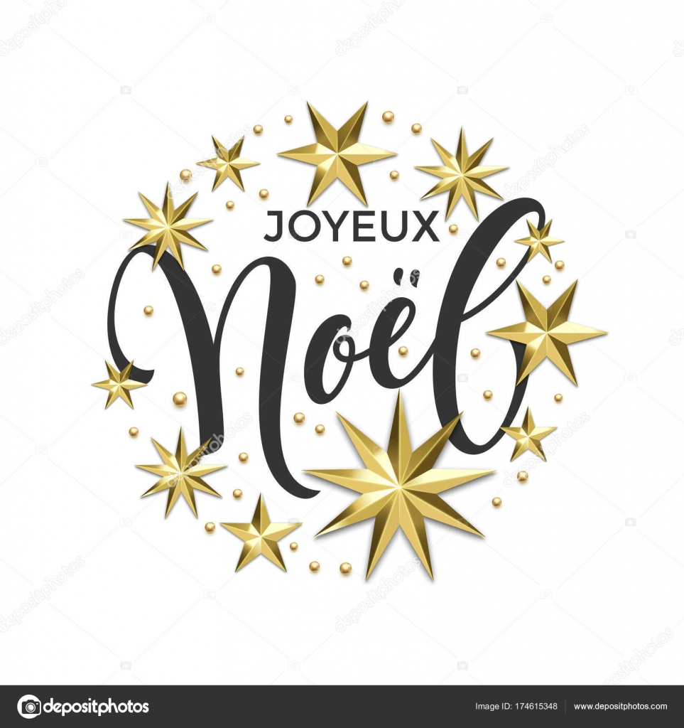 Joyeux noel french merry christmas golden decoration calligraphy joyeux noel french merry christmas golden decoration calligraphy font for invitation or greeting card white background vector christmas or new year winter stopboris Gallery