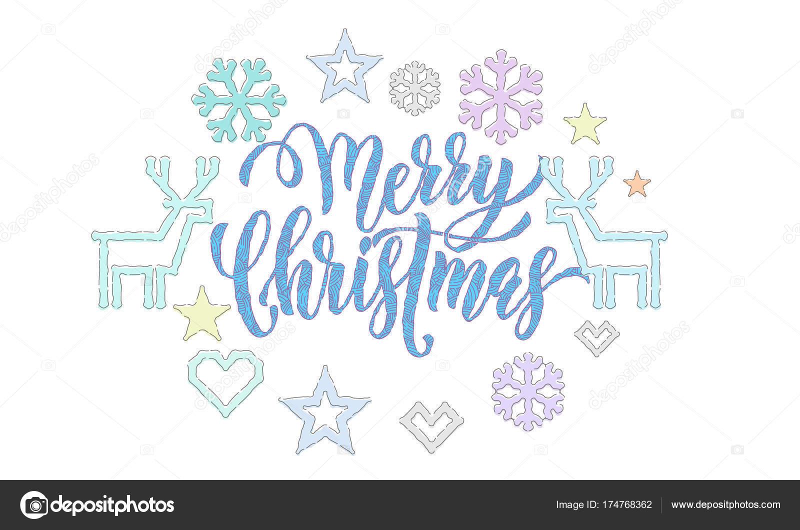 Fotos: diseño para hacer tarjetas de navidad | Feliz Navidad bordado ...