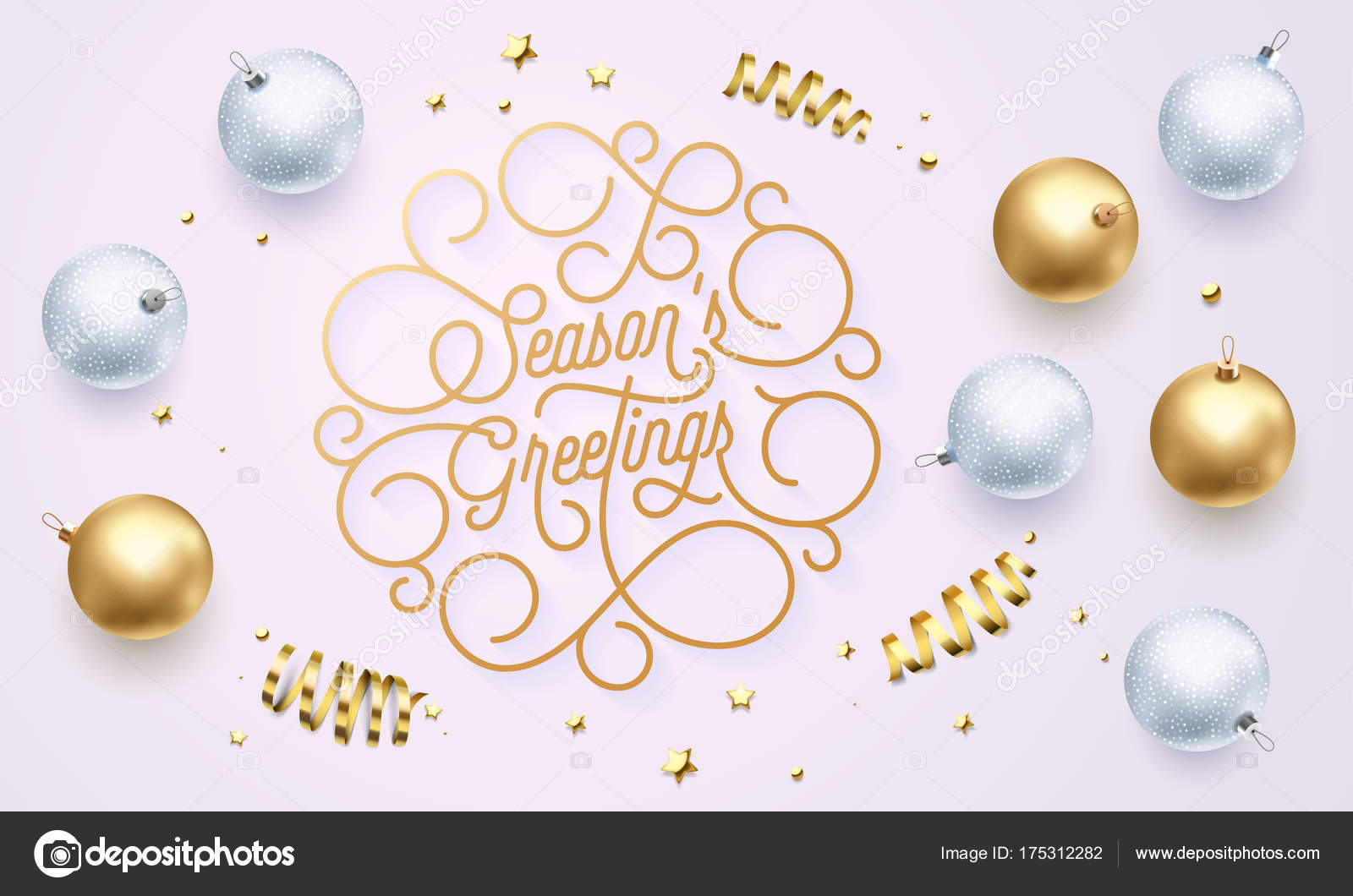 Season greetings font text flourish golden calligraphy lettering of season greetings font text flourish golden calligraphy lettering of swash gold typography for xmas or new m4hsunfo