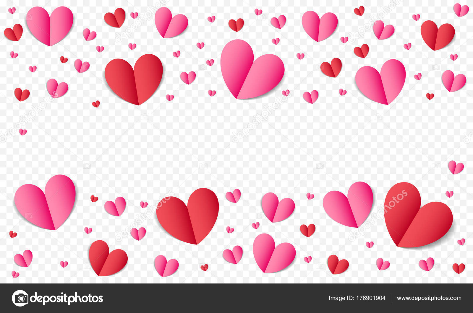 Hearts pattern background for valentines day or wedding romance and hearts pattern background for valentines day or wedding romance and save the date greeting card or invitation template stopboris Image collections