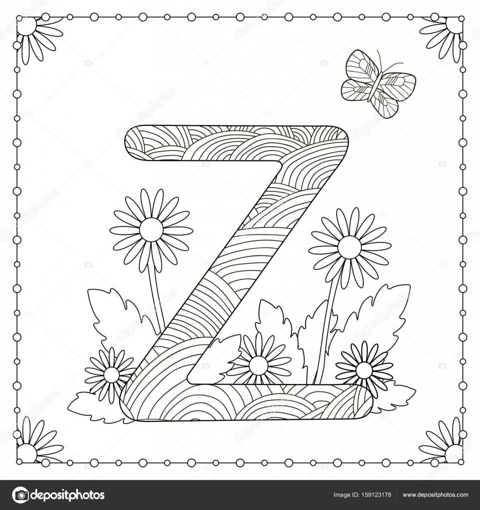 Diferentes Tipos De Flores Para Colorear Página Para Colorear De