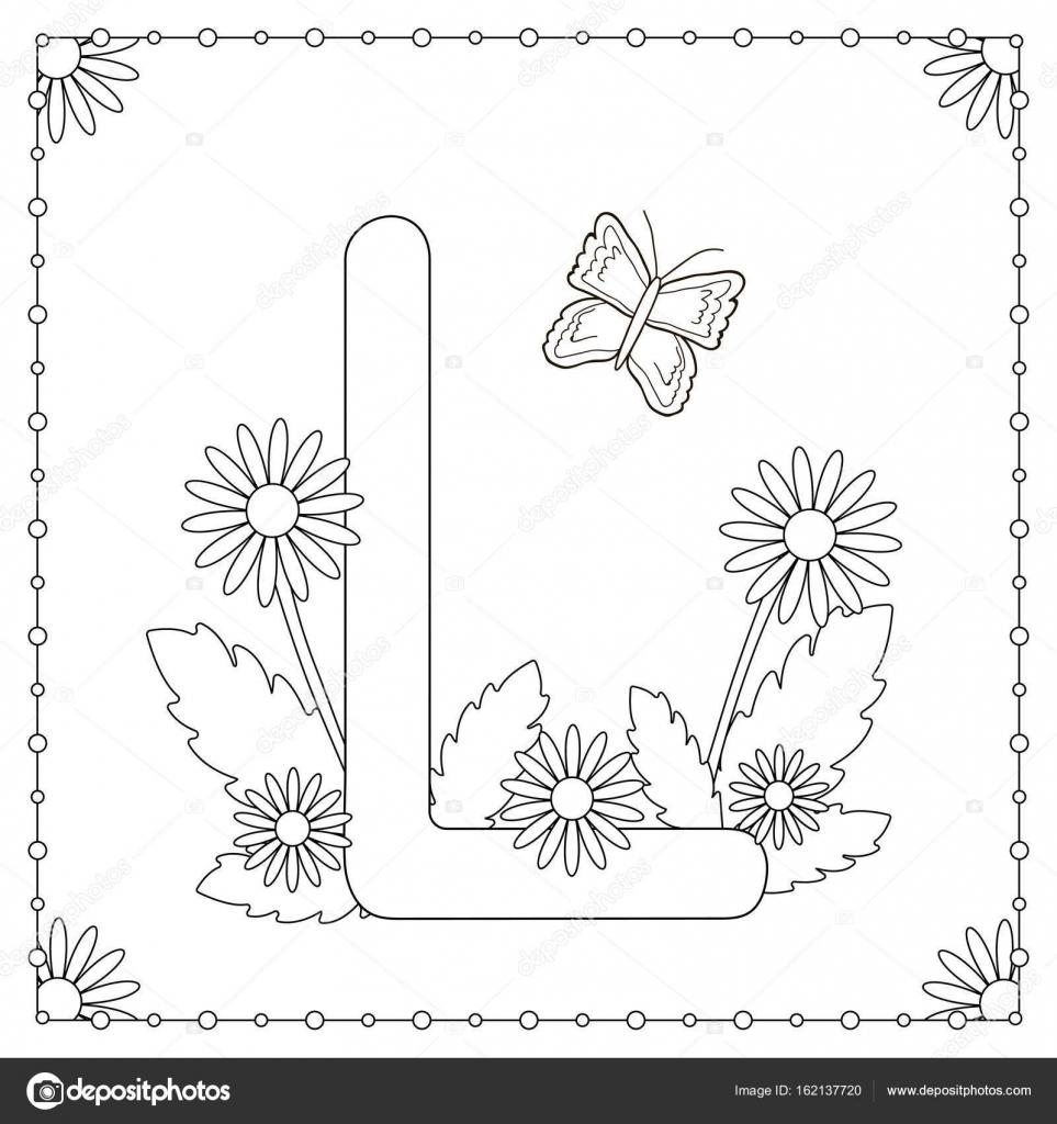 alphabet coloring page stock vector 169 yasyazagoruiko
