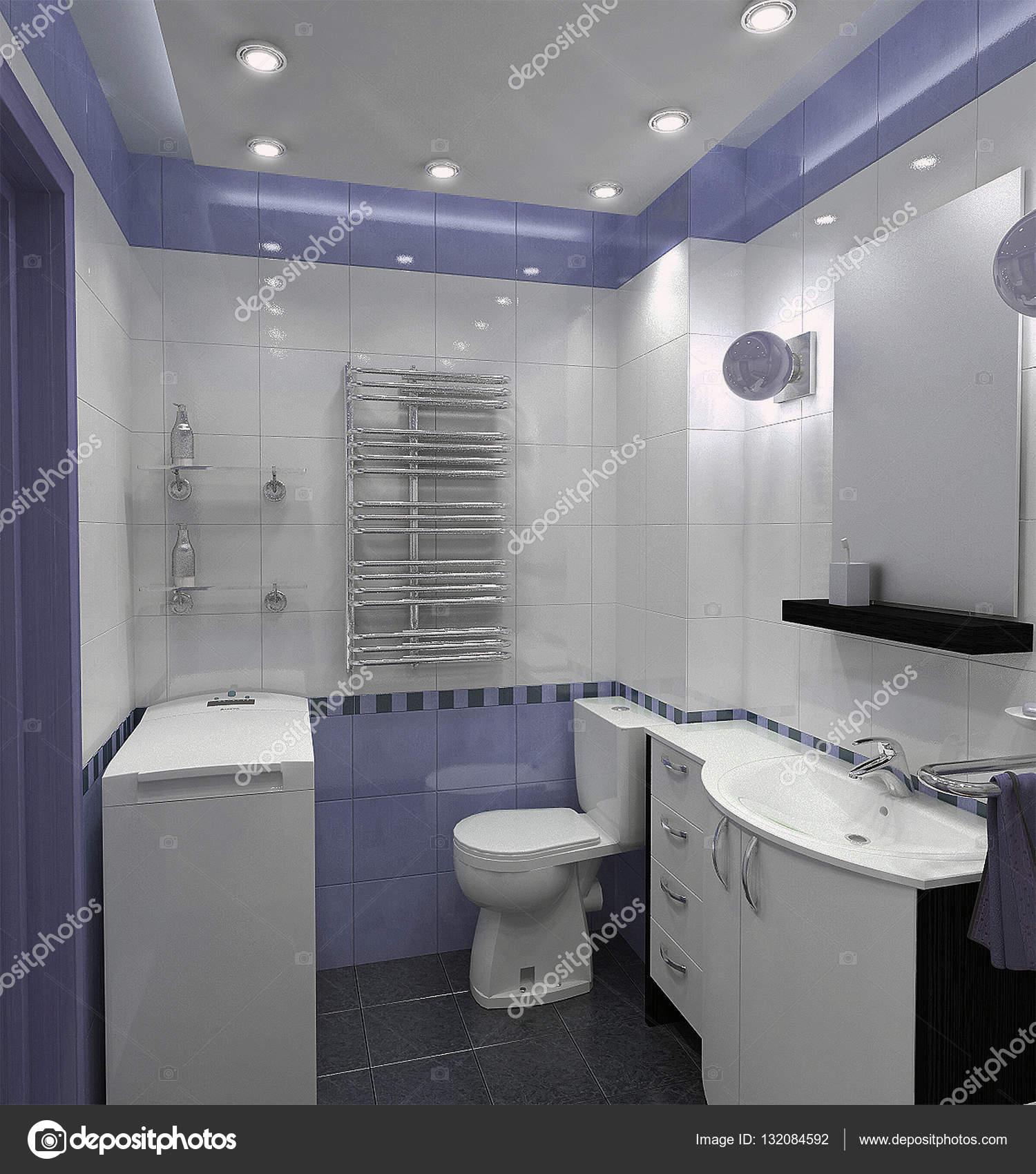 Minimalist Bathroom Images: Bathroom Minimalist Style Interior Design, Render 3D