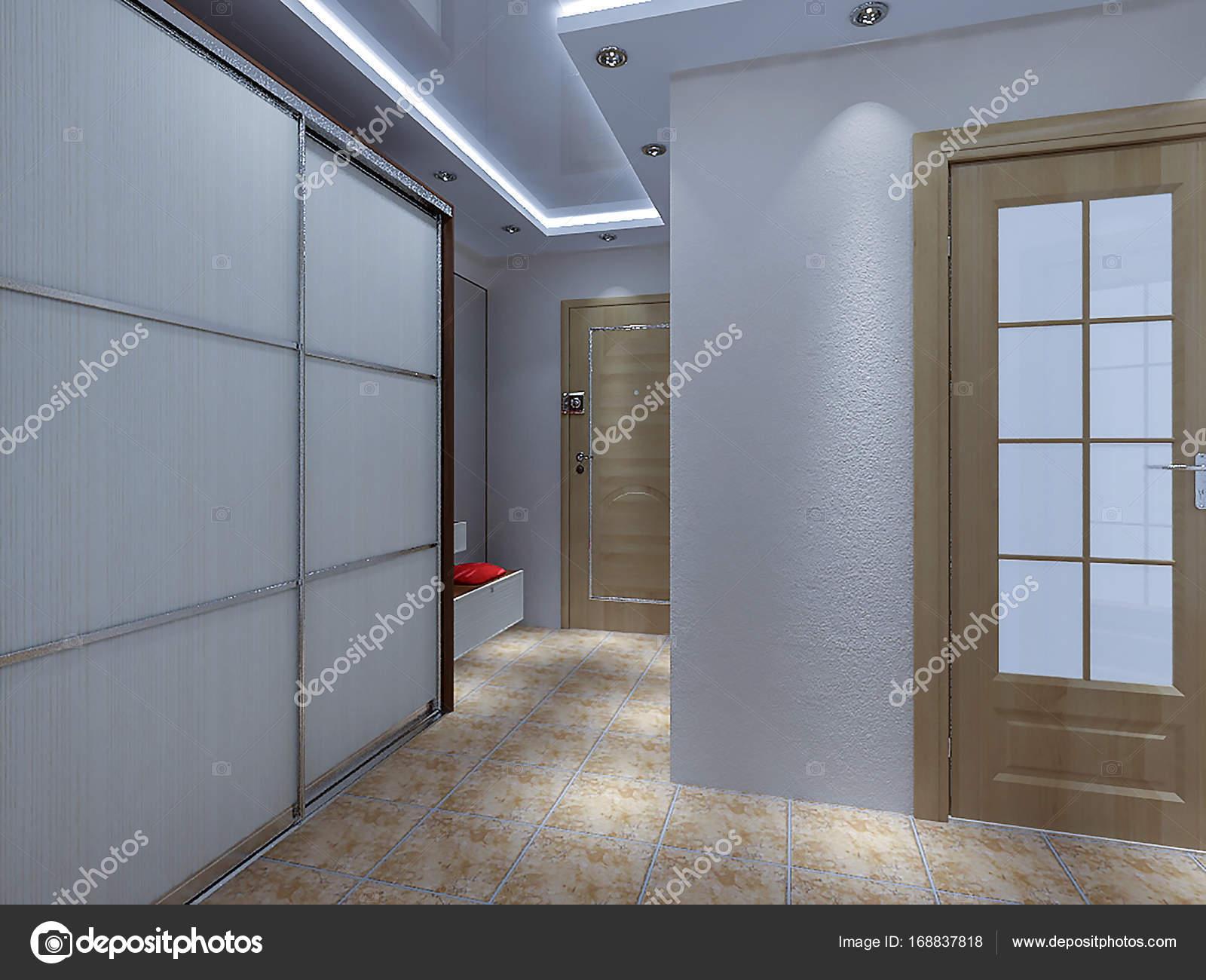 Ideeën van het ontwerp van de hal van de ingang van de moderne d