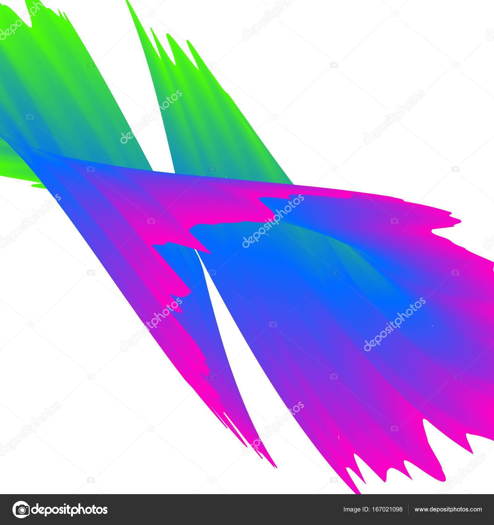 抽象的なカラフルなレインボー波背景ベクトル イラスト ストック