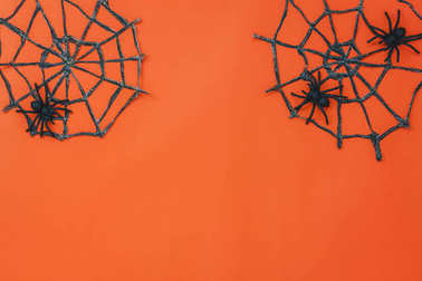 Happy Halloween decorations festival concept.