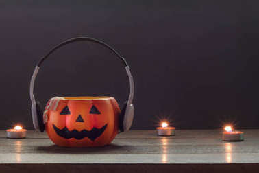 Essential accessory of Happy Halloween decorations festival and music