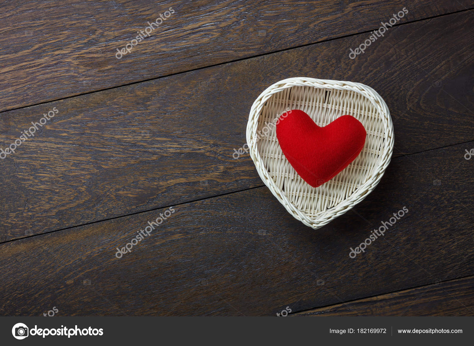 Table Top View Image Of Decoration Valentines Day Background