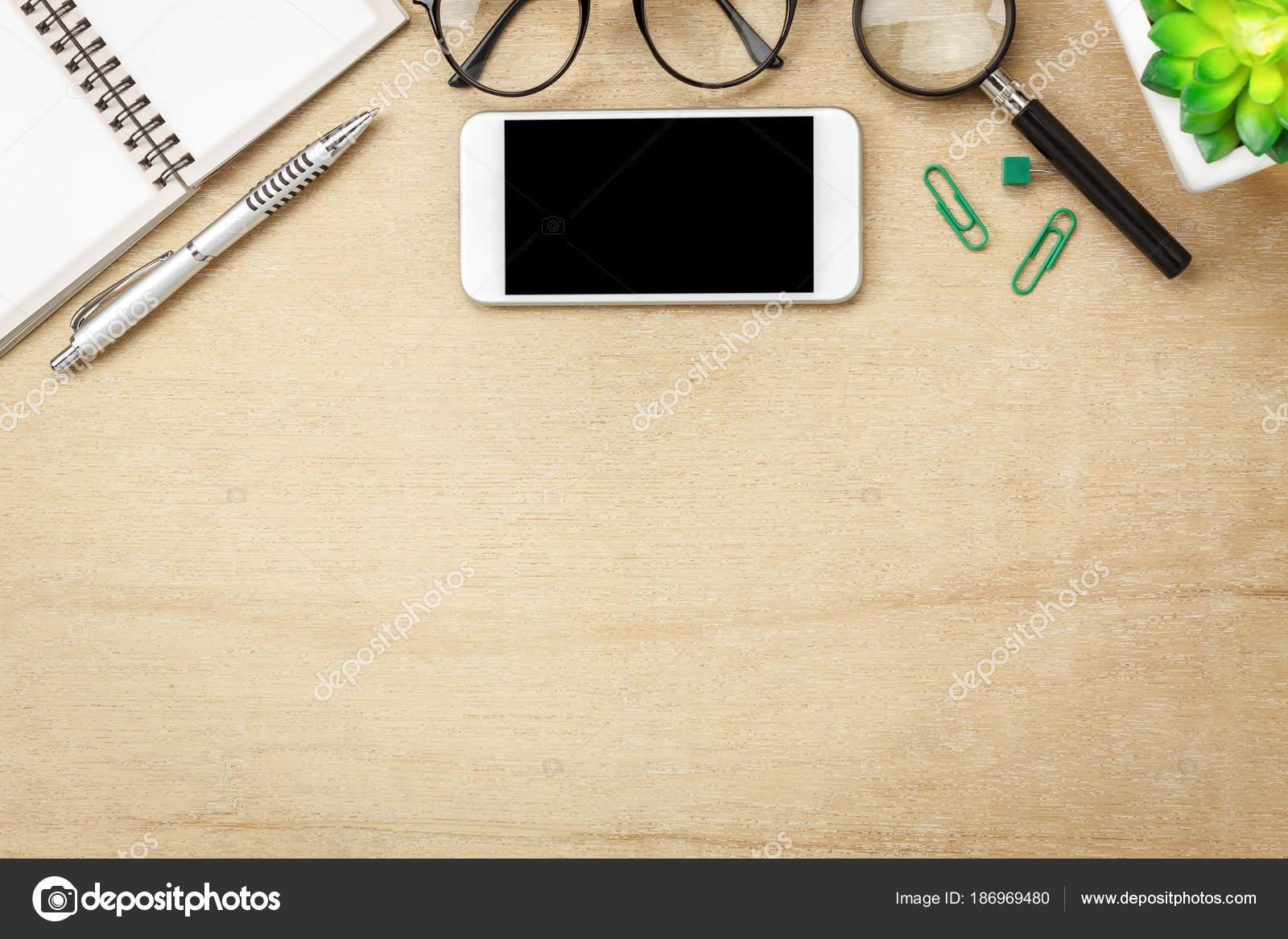Fotos: escritorio | Mesa Vista Superior Imagen Aérea Fija Concepto ...