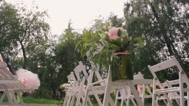 Místo pro oslavu, příprava na svatební obřad
