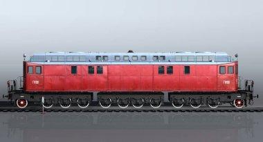 Diesel Locomotive Ge-1