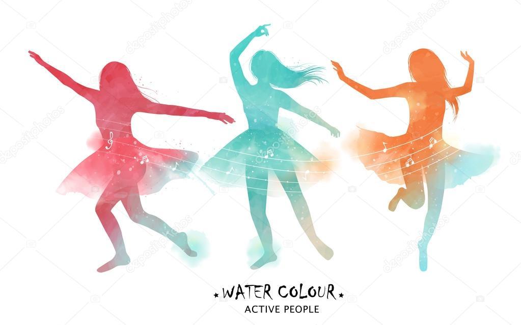 Dibujos: Bailarina De Ballet Dibujo A Color