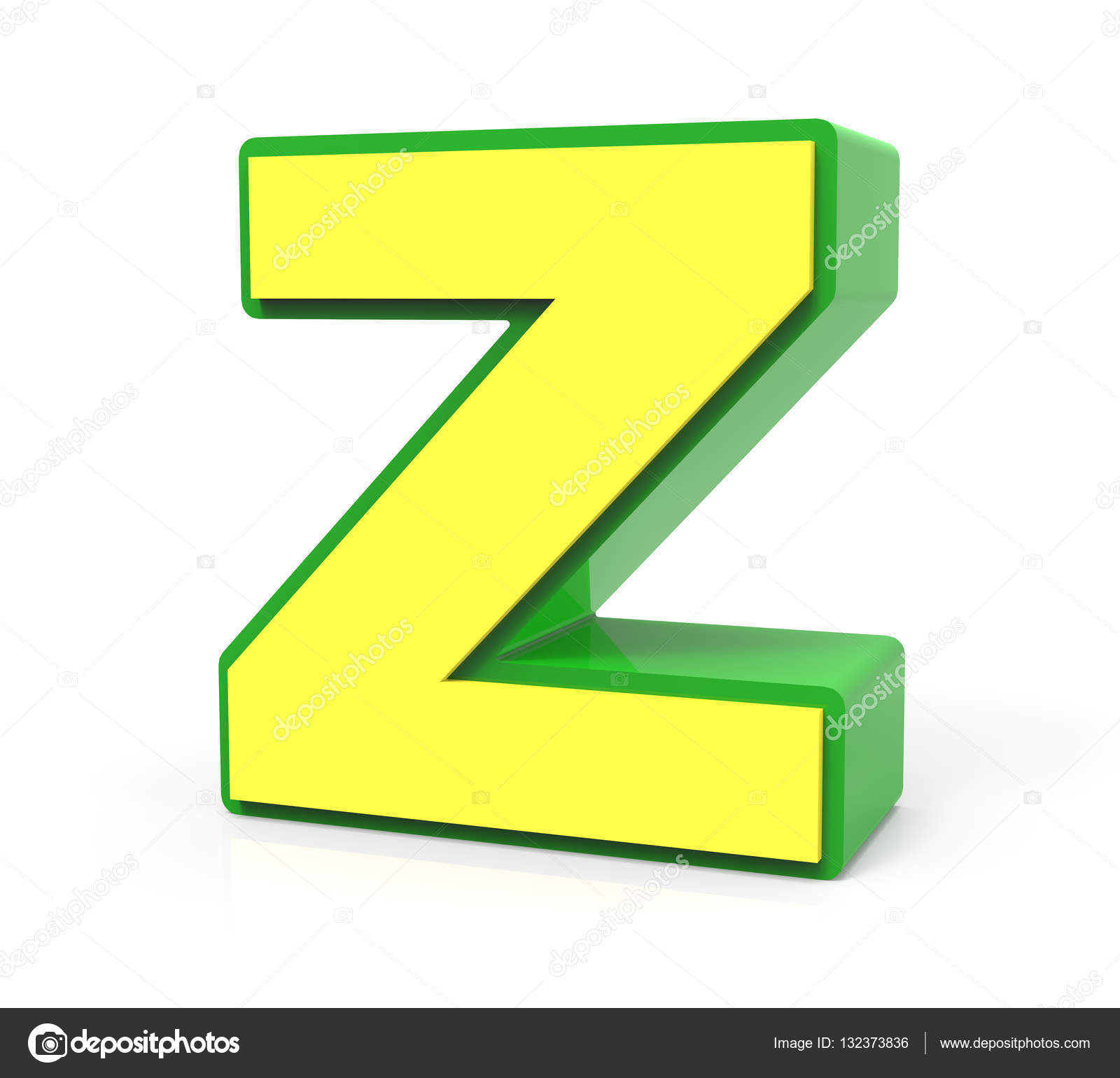 3D Toy Buchstabe Z — Stockfoto © HstrongART #132373836