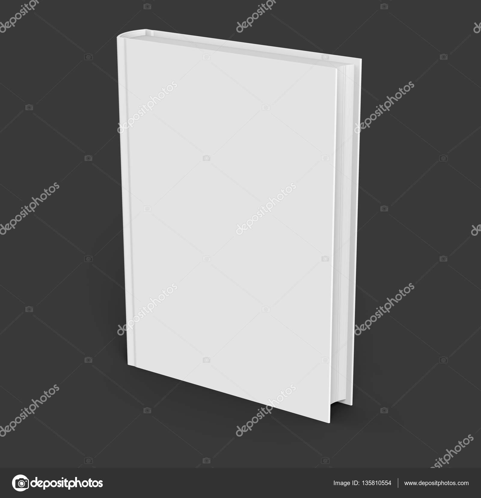 Leere Hardcover-Buch-Vorlage — Stockfoto © HstrongART #135810554