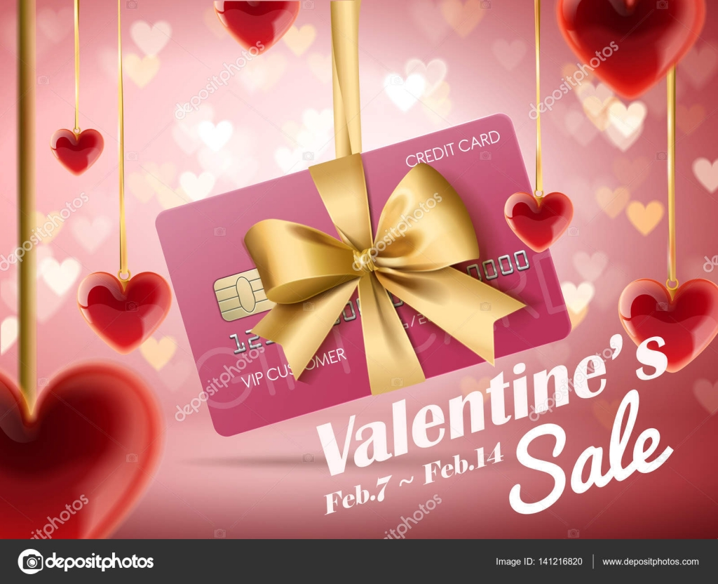 Valentine S Sale Ads Stock Vector C Hstrongart 141216820
