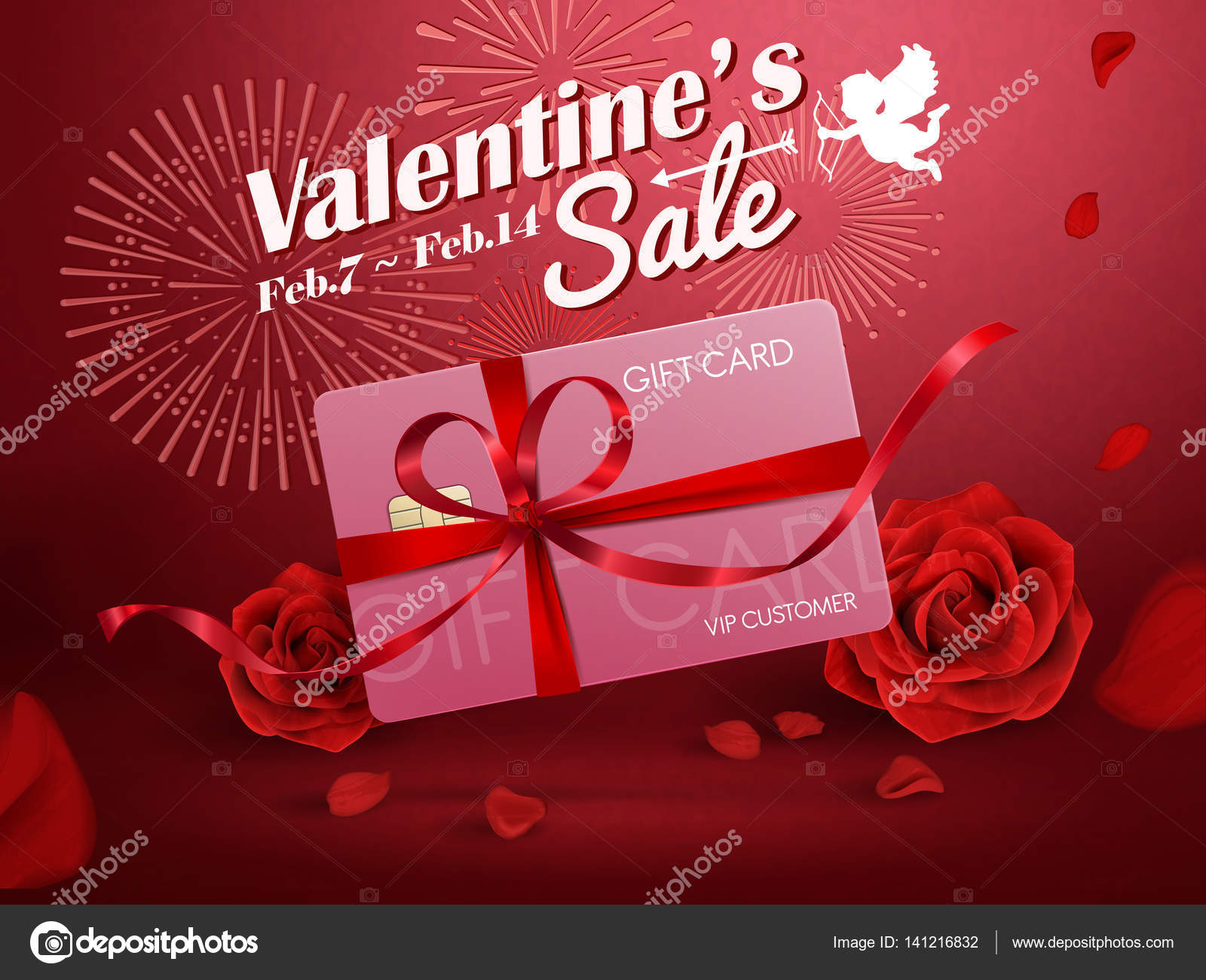 Valentine S Sale Ads Stock Vector C Hstrongart 141216832