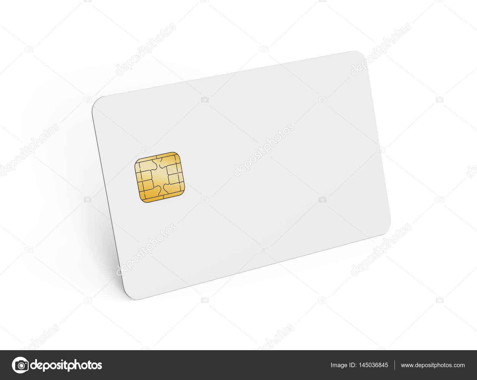 Leere Kreditkarte Vorlage — Stockfoto © HstrongART #145036845