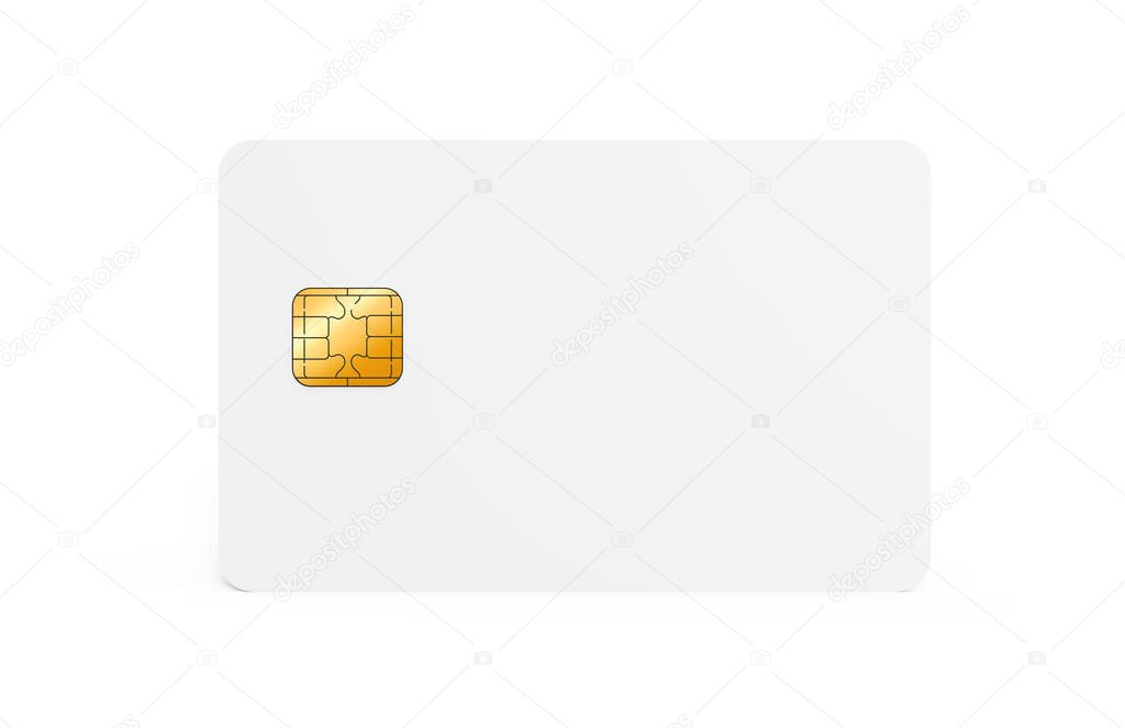 blank credit card template — stock photo © hstrongart