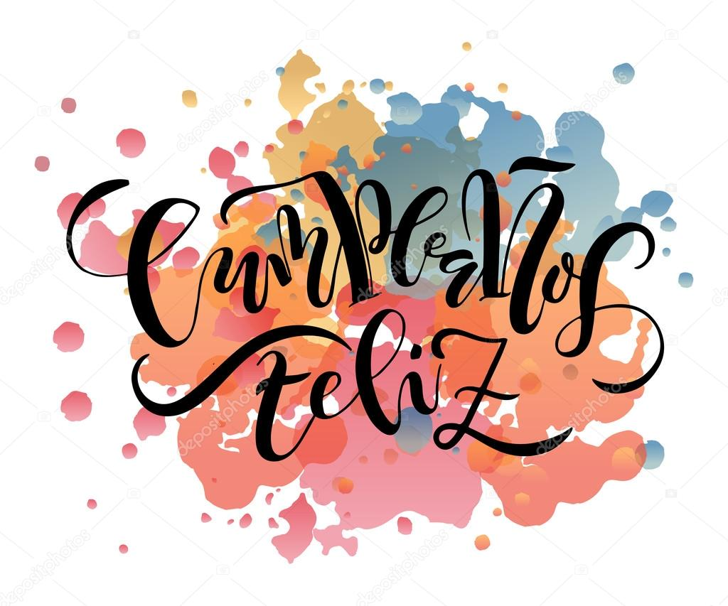 Cumpleanos Feliz (Happy Birthday In Spanish