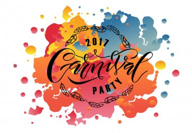 Hand drawn Carnival Fair logotype