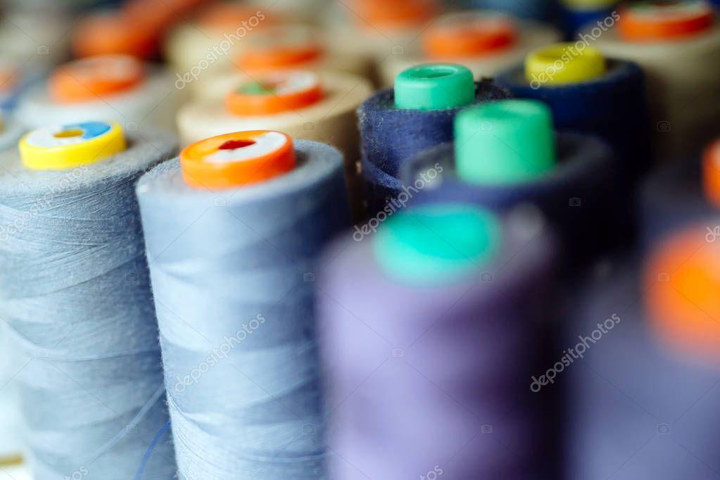 Thread spools in fabric industry