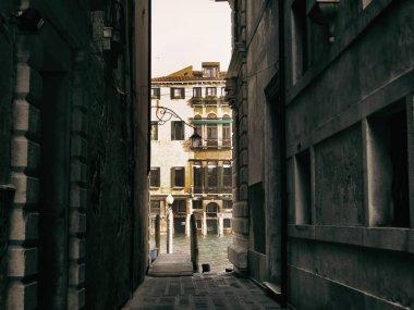 Narrow passage in Venice streets