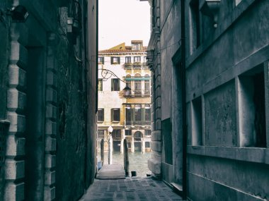 Narrow passage in Venice streets