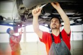 Fotografie auto mechaniky pracovní