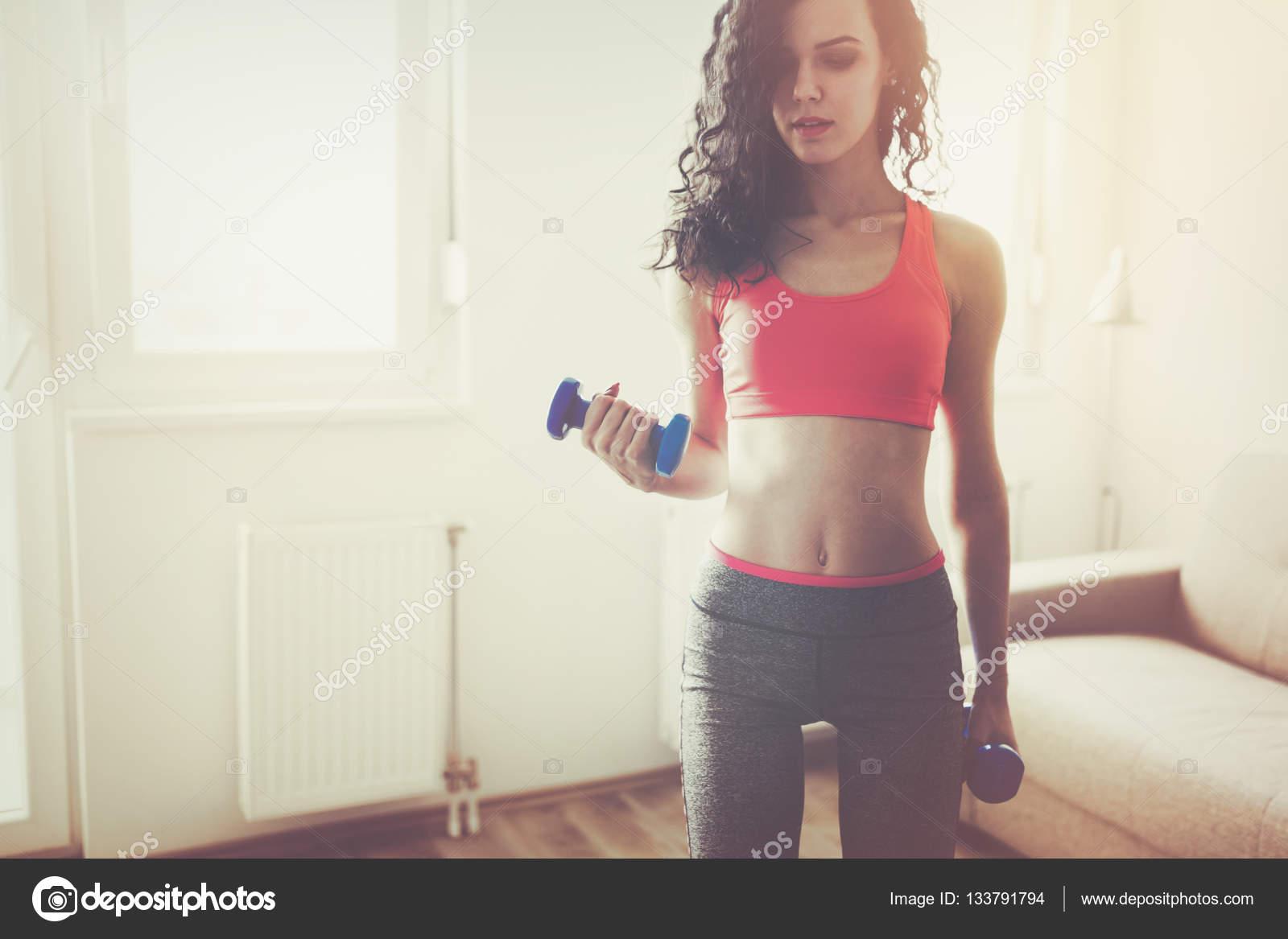 Casa ejercicios en en mantenerse forma