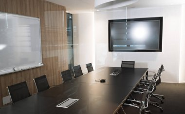 Modern meeting conference room