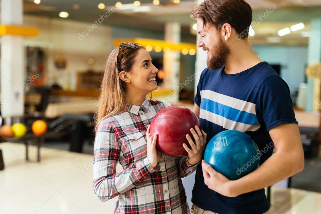 Beautiful couple dating