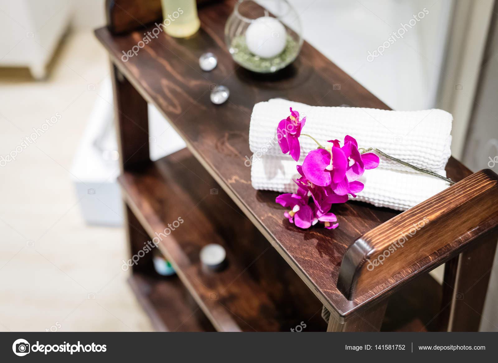 Massage Salon Dekoration — Stockfoto © nd3000 #141581752