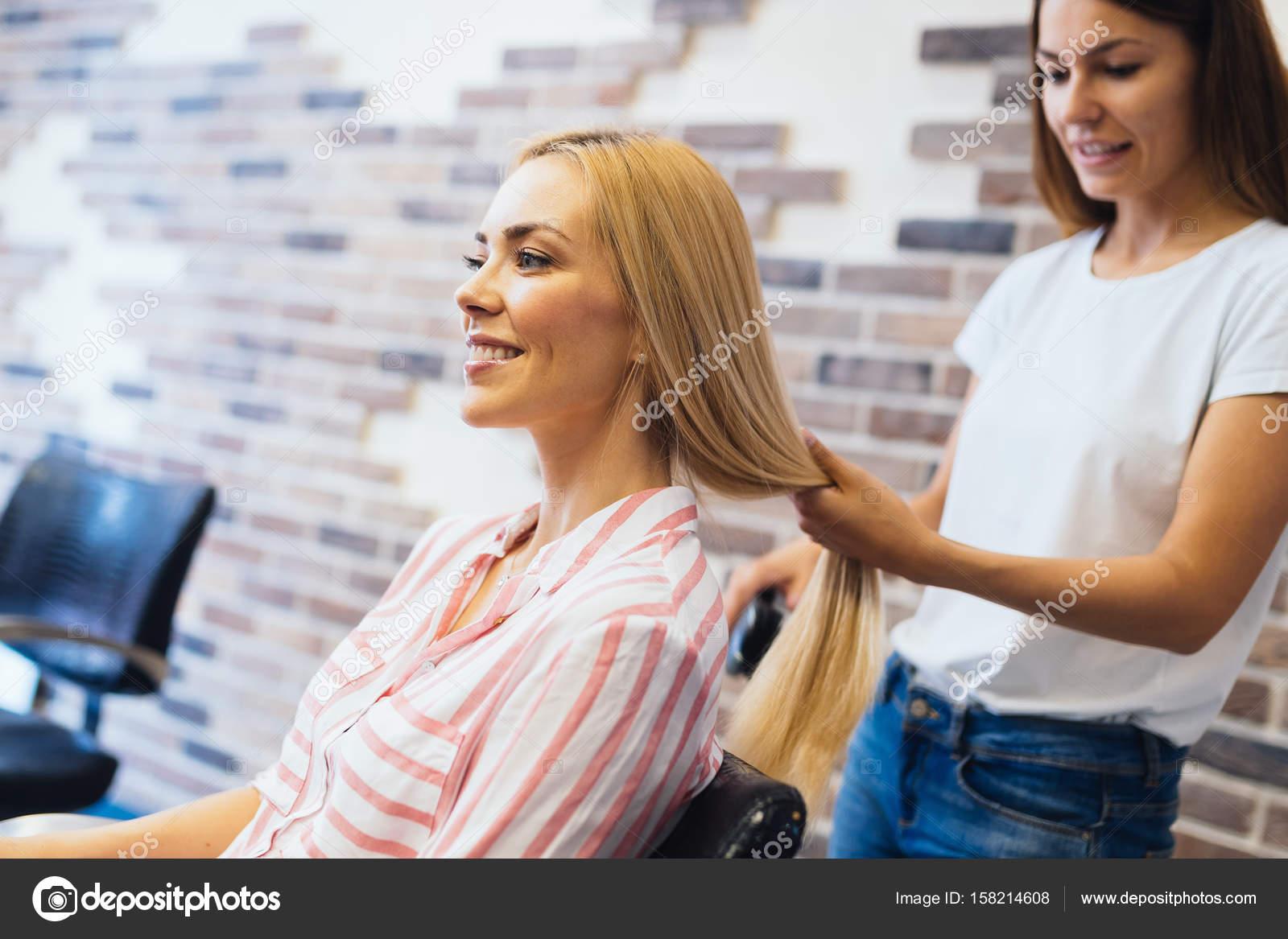 Getting A Haircut 75