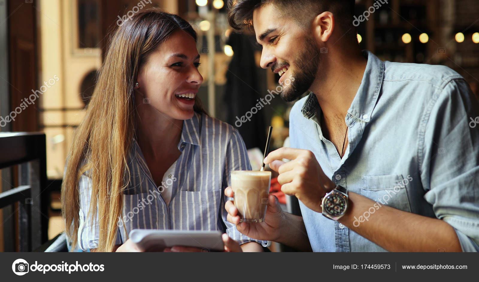 Dating Coffee shop