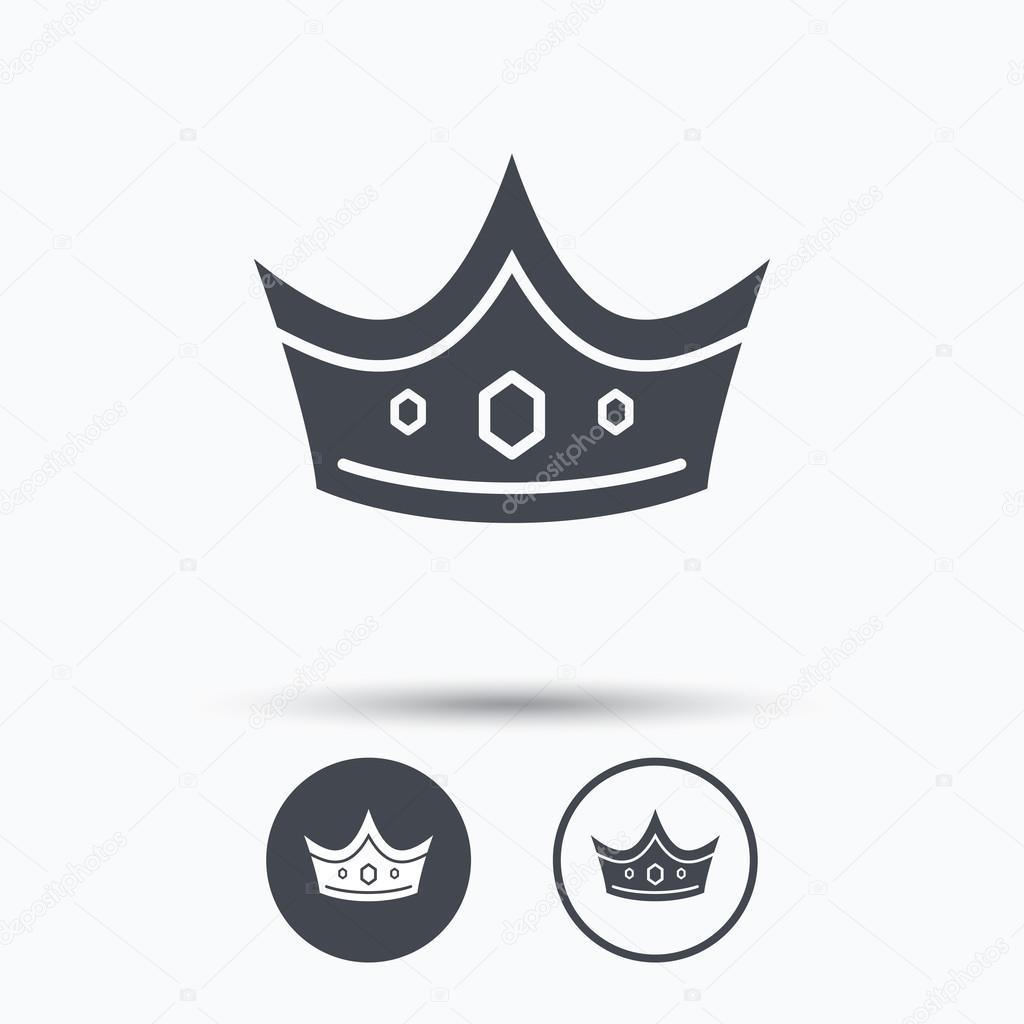 значок короны