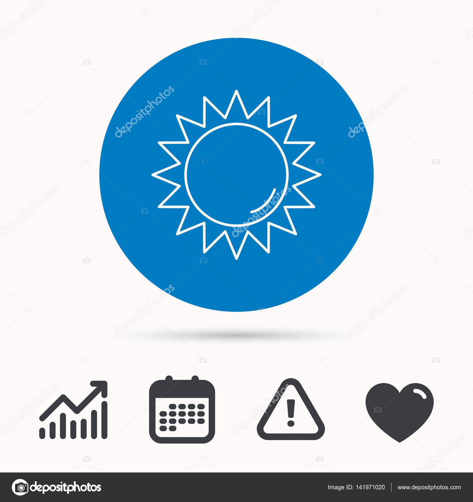 Sun Rays Icon Summer Sign Stock Vector Tanyastock 141971020