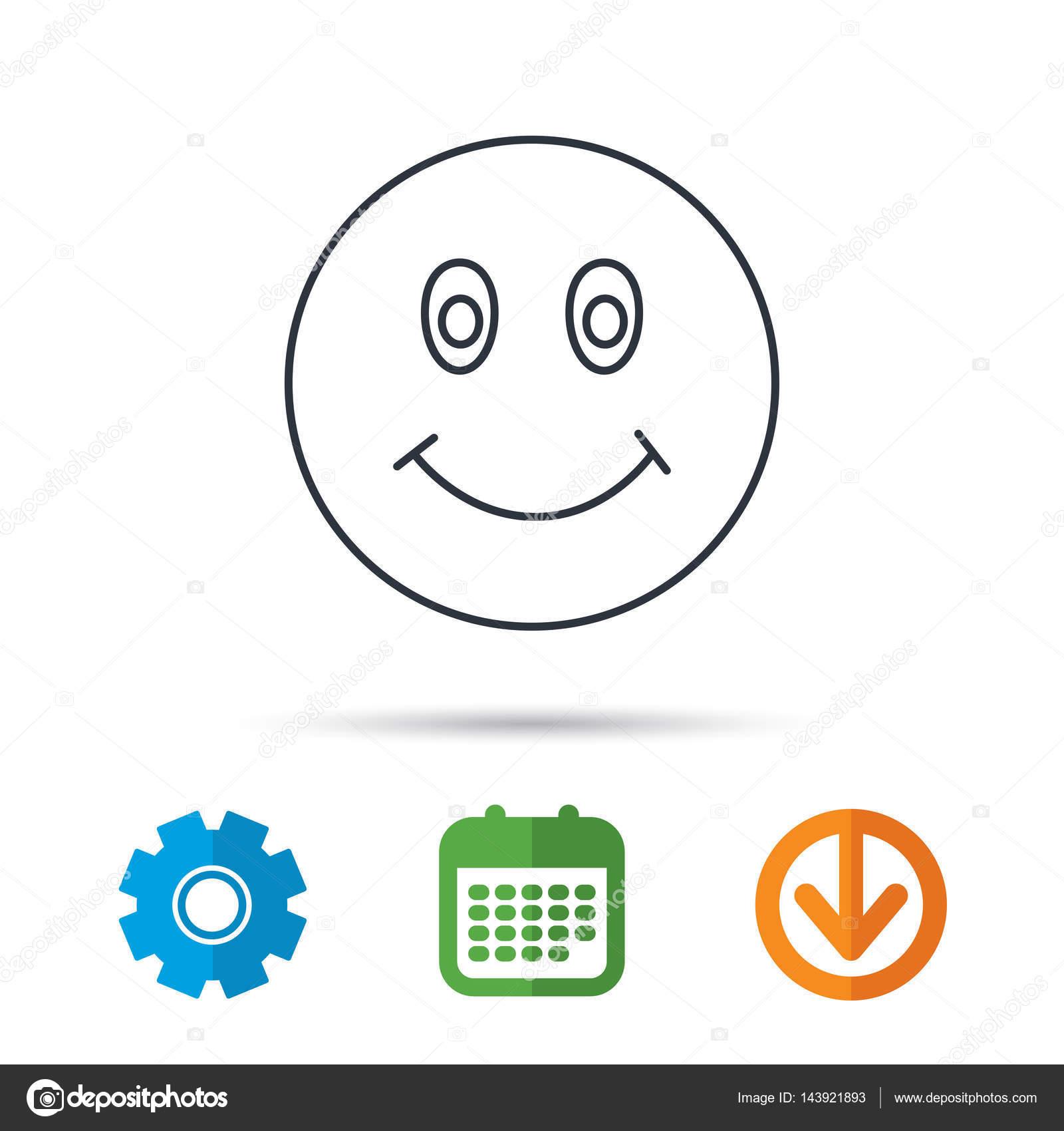 Glückliches Gesicht Symbol