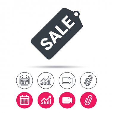 Sale coupon icon. Special offer tag sign.