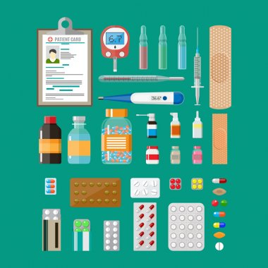 Medicine pills capsules and healthcare devices